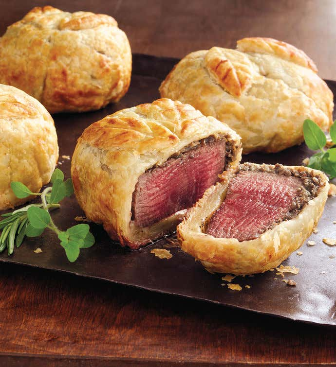 Beef Wellington Entrées - Six 8-Ounce Pieces